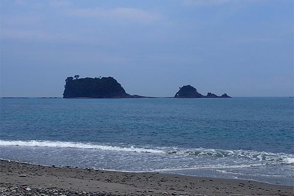 九龍島と鯛島