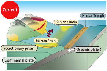 The Present Platform formed by Three Geological Features
