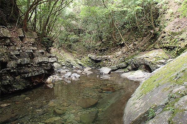 筱尾川溪谷