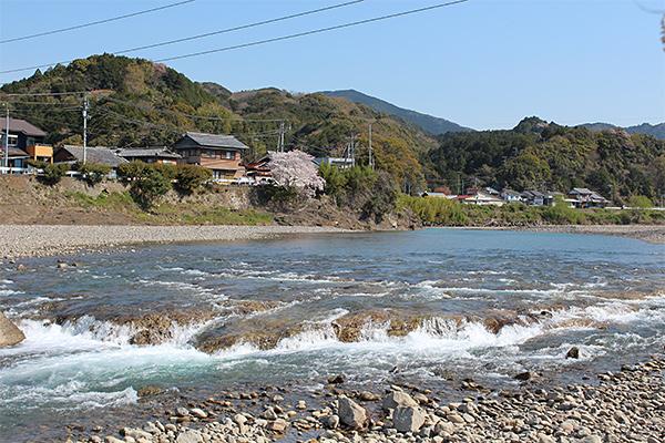 富田川河川改造遗迹